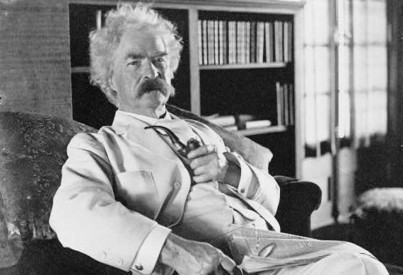 the past and present criticisms of mark twain Some literary criticism quotes  and thus in opposition to strategies of intervention in the present,  and deception smuggle us past the border of our own.