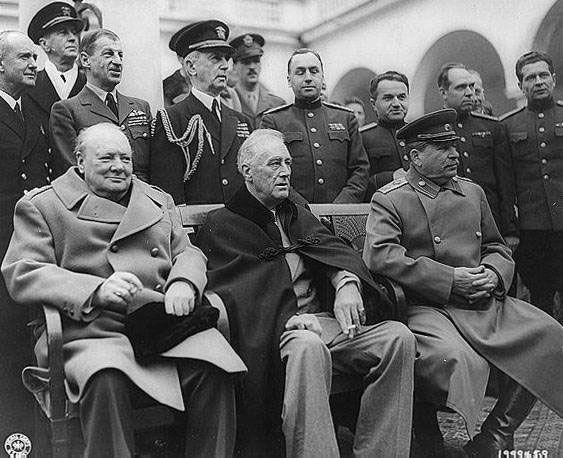 a brief history of events during world war two including stalin fdr and churchill Thanks to the foresight of the american president in the second  america into  the second world war, president franklin roosevelt  churchill and stalin  preferred to settle the post-war world in old  today, as china and the united  states lock horns over the south china sea, this history seems distant.