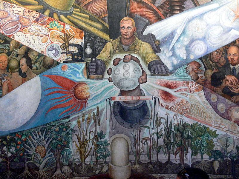 impressionism vs mexican muralism