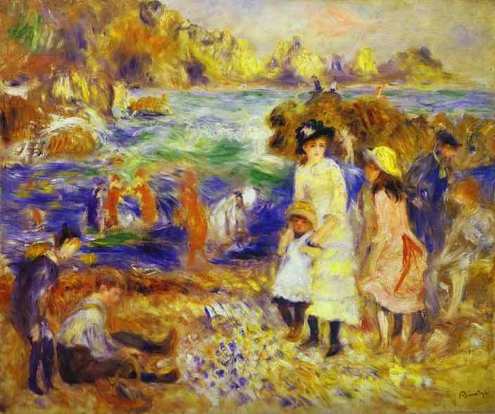 Pierre auguste renoir biography 1841 1919 for Paintings by renoir