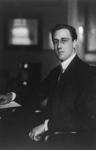 Franklin Roosevelt Secretary of the Navy 1913 192x300