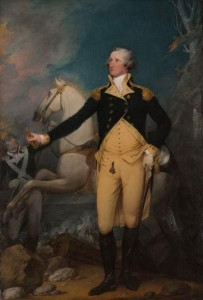 General George Washington at Trenton by John Trumbull 203x300