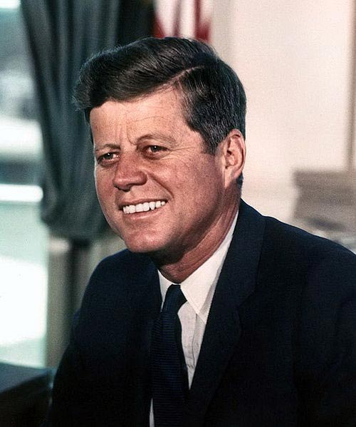 Interesting. Prompt, President john f kennedy above