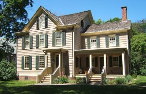 Grover Clevelands birthplace 300x193