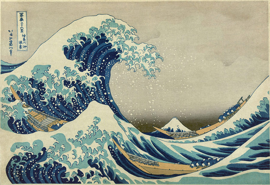 The great wave off kanagawa c 1829 32 by katsushika hokusai the great