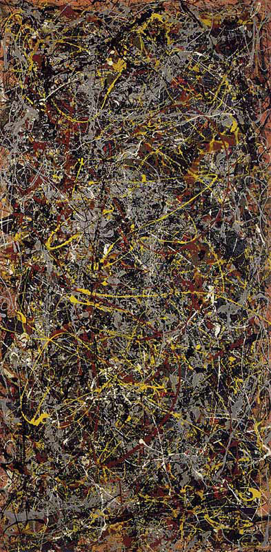 Most famous paintings list of the world 39 s most popular for Famous pollock paintings