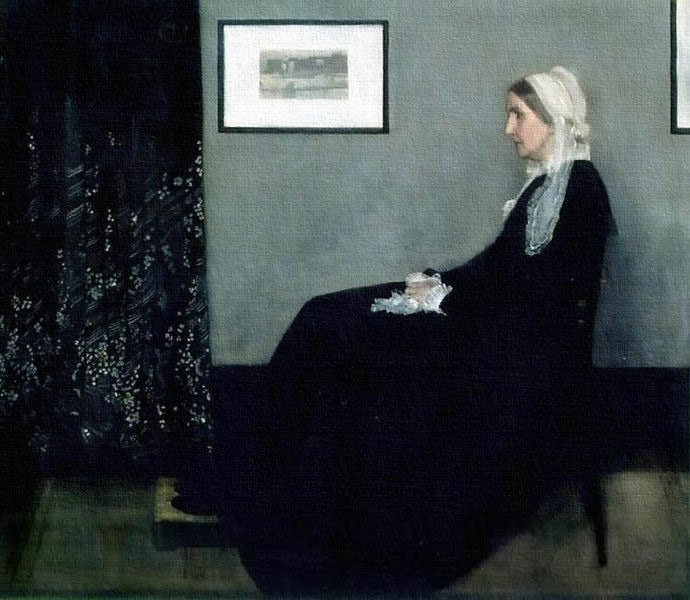 Whistler S Mother Painting Analysis