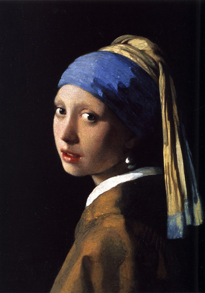 Girl with a Pearl Earring by Johannes Vermeer Facts & History A Girl With A Pearl Earring