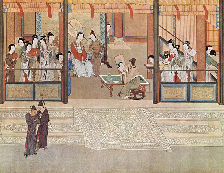 The chinese ming dynasty economy economic structures for Dynasty mural works