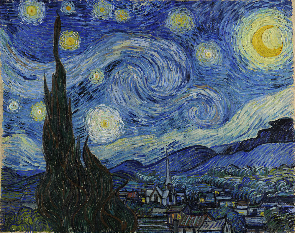 starry night medium