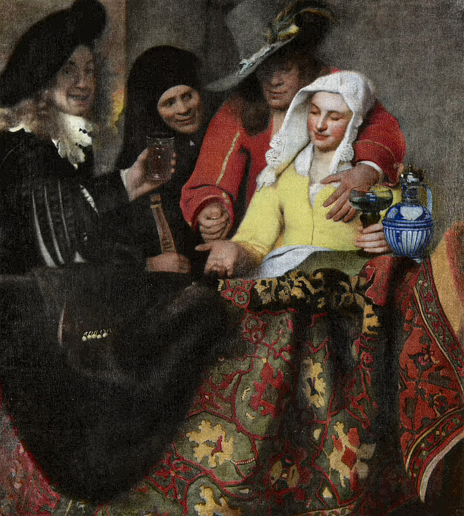 the life and works of johannes vermeer Vermeer and the masters of genre painting reinserts vermeer  johannes vermeer,  while his companions in high-life interiors, as these works are .