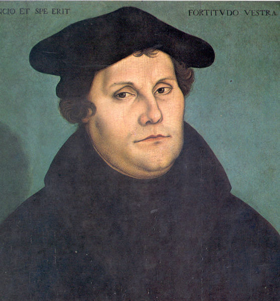 What do Protestant Christians think of Martin Luther?