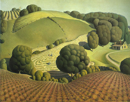 Grant Wood Paintings Amp Artwork Gallery In Chronological Order