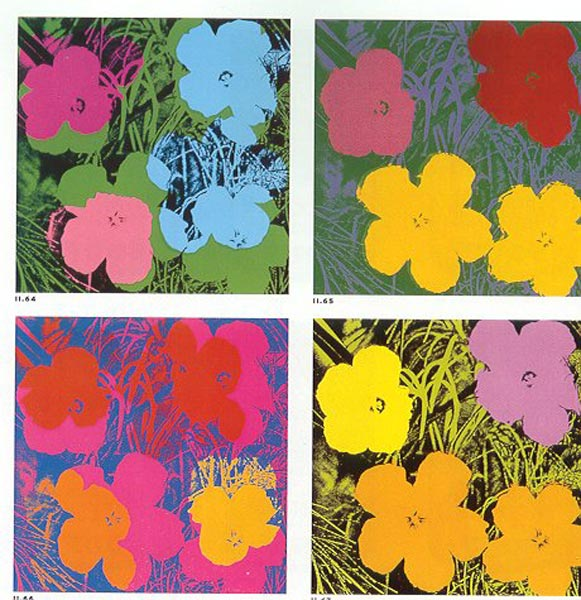 Andy Warhol Paintings & Artwork Gallery in Chronological Order