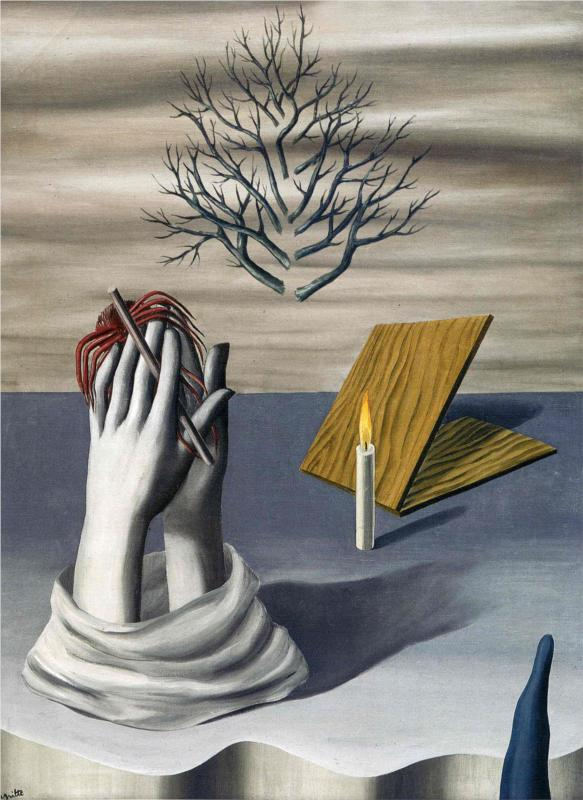 Fake of Great - Rene Magritte Painting by Vladimir Malinko ...  |Rene Magritte Paintings