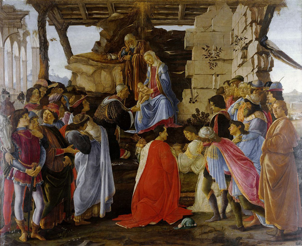 adoration of the magi by botticelli facts about the painting adoration of the magi