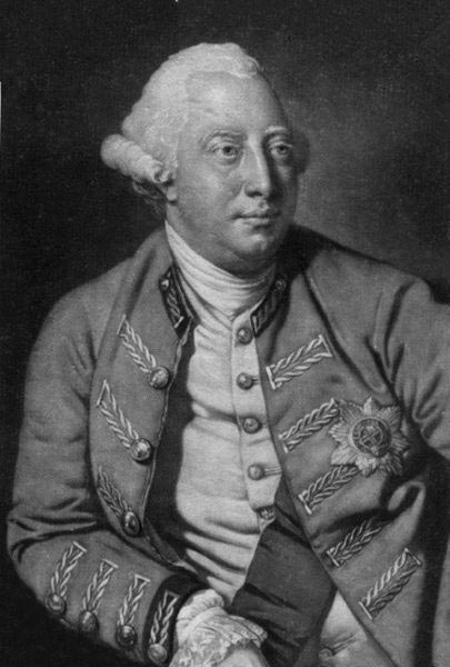 King George III Role in The American Revolutionary War Summary