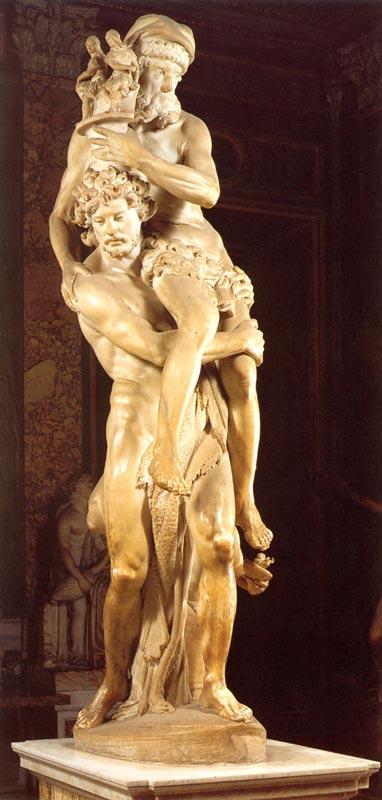 gian lorenzo bernini paintings artworks in chronological order aeneas and anchises