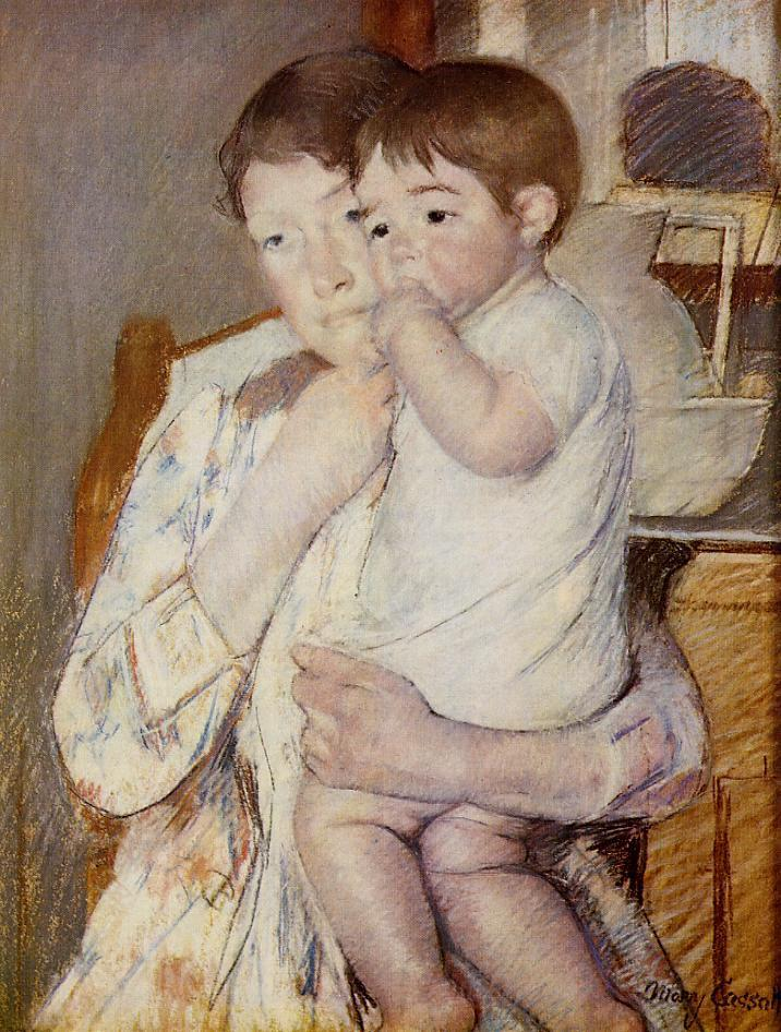 Mary cassatt paintings artwork gallery in chronological for How much is my painting worth