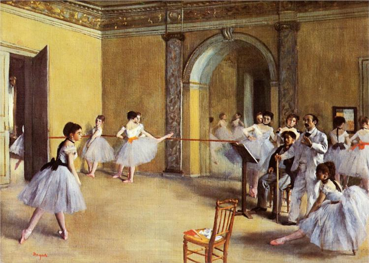 edgar degas most famous paintings artworks