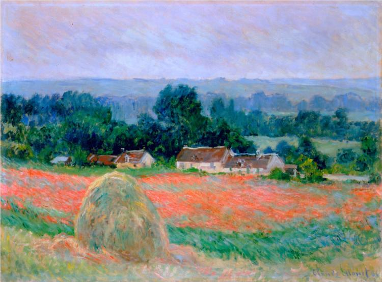 Claude oscar monet most famous paintings artworks for Monet paintings images