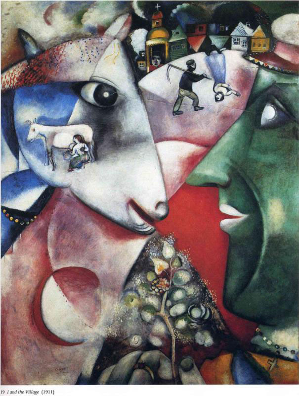 marc chagall most famous paintings artworks