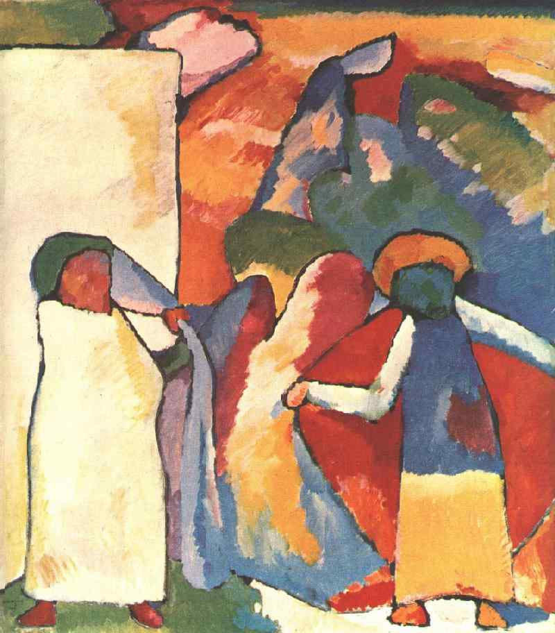 Wassily Kandinsky Paintings Gallery In Chronological Order