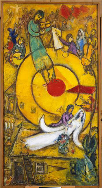 Marc Chagall Most Famous Paintings & Artworks Chagall Crucifixion