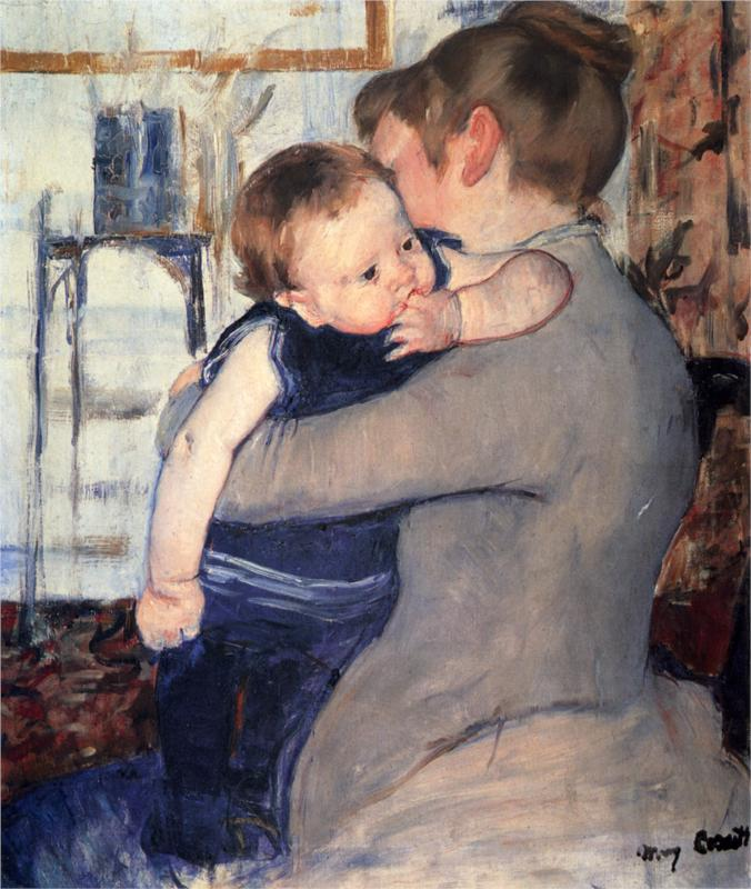 Mary Cassatt Paintings & Artwork Gallery in Chronological ...