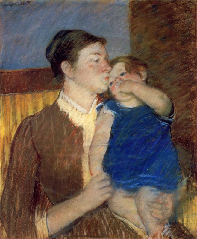 Mary Cassatt Paintings & Artwork Gallery in Chronological ...