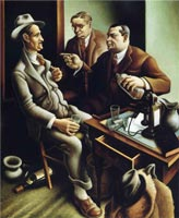 preparing-the-bill-1934-by-Thomas-Hart-Benton-small