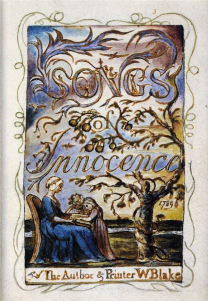 william blakes songs of innocence Find great deals on ebay for william blake songs of innocence shop with confidence.