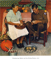 Christmas Homecoming Rockwell.Norman Rockwell Paintings Gallery In Chronological Order