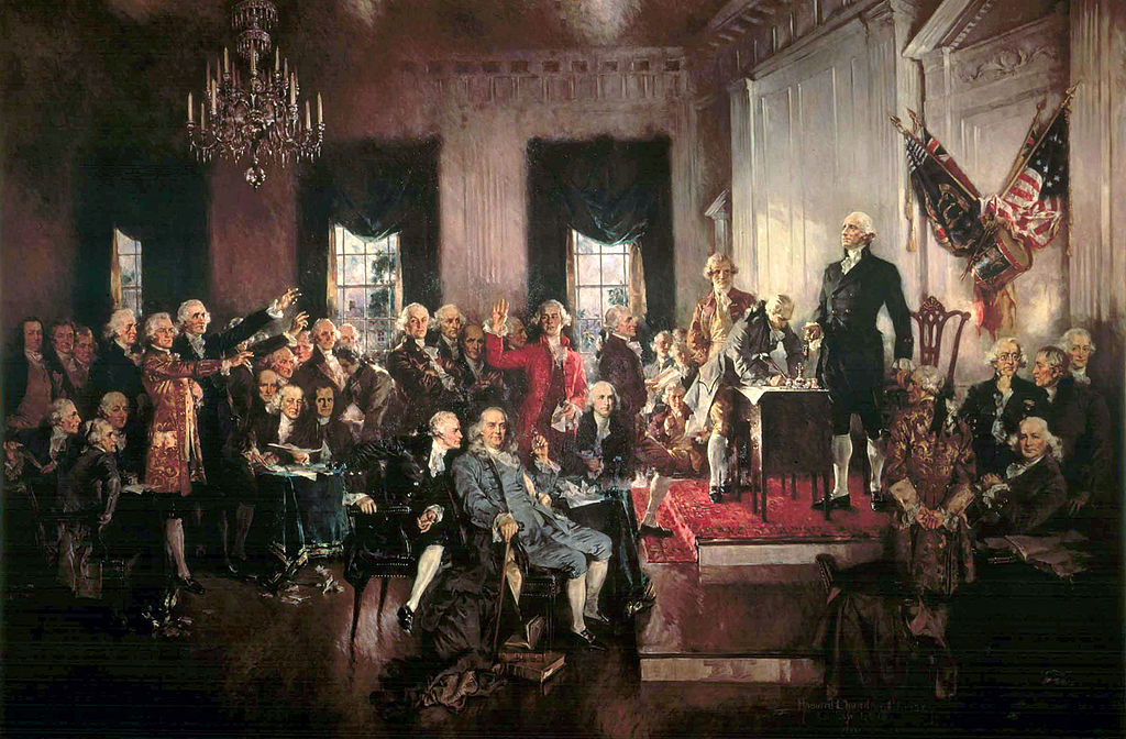 a history of the framers of the constitution in the united states of america The framers who created the united states constitution chose the idea of federalism because they wanted a government that was able to unify a belief within the states without diminishing each states' ability to control itself federalism made the most sense because it allowed the states to be.