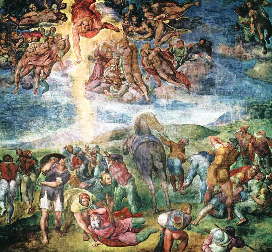 The Conversion of Saul by Michelangelo - Facts about the ...
