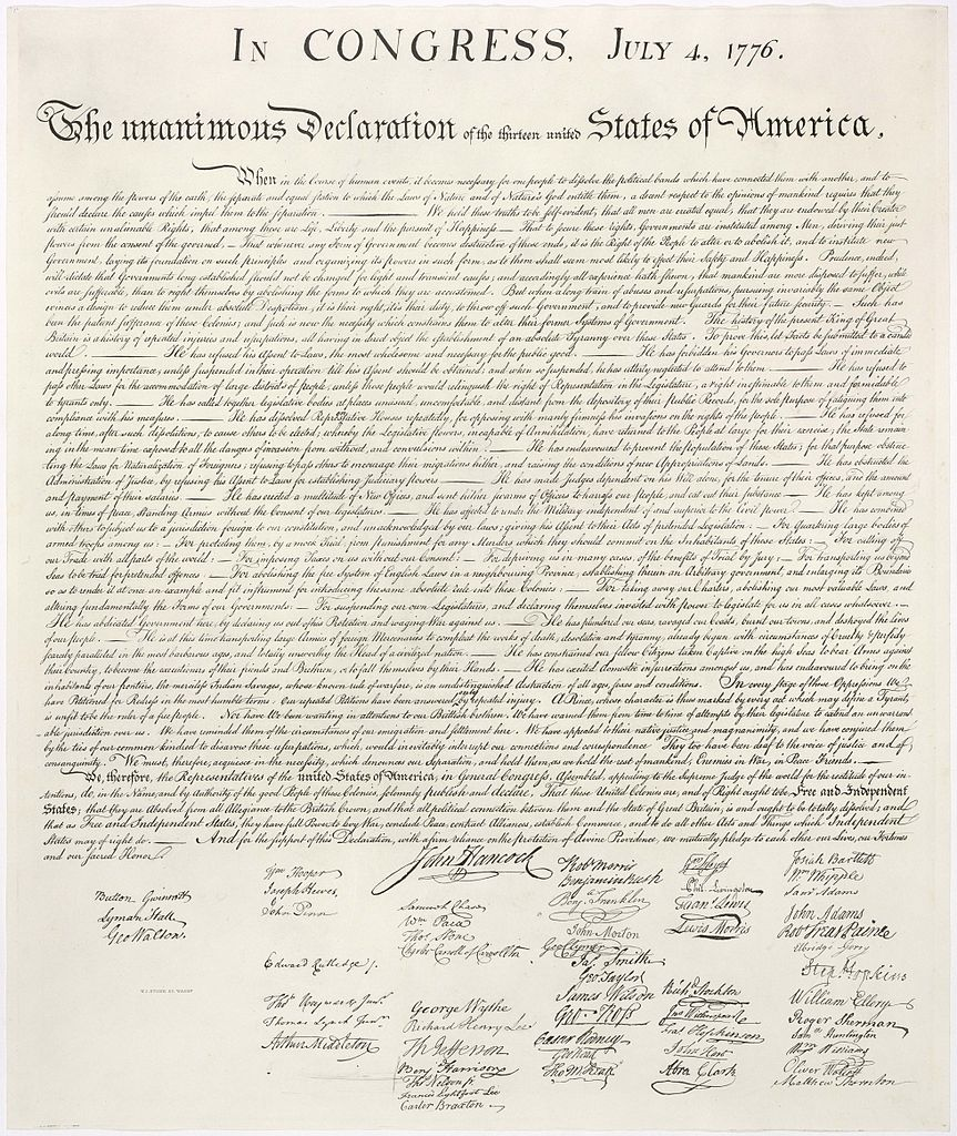 Declaration of Independence (July 4, 1776) Summary & Full Text
