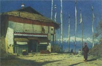 buddhist-temple-in-darjeeling-sikkim-1874-by-vasily-small
