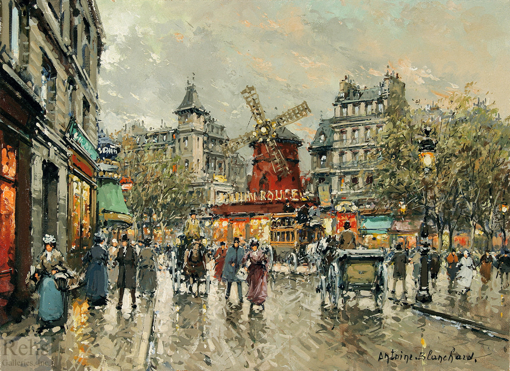Antoine Blanchard Paintings  U0026 Artwork Gallery
