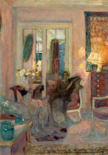 douard vuillard paintings artwork gallery in. Black Bedroom Furniture Sets. Home Design Ideas