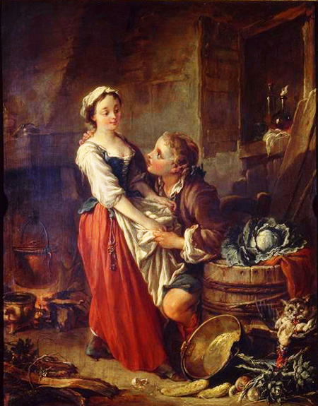Fran ois boucher paintings artwork gallery in - 17th century french cuisine ...