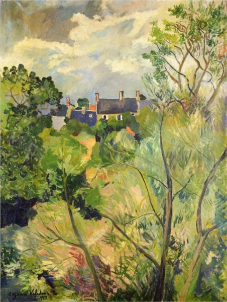 Suzanne valadon paintings artwork gallery in for Vue de ma fenetre