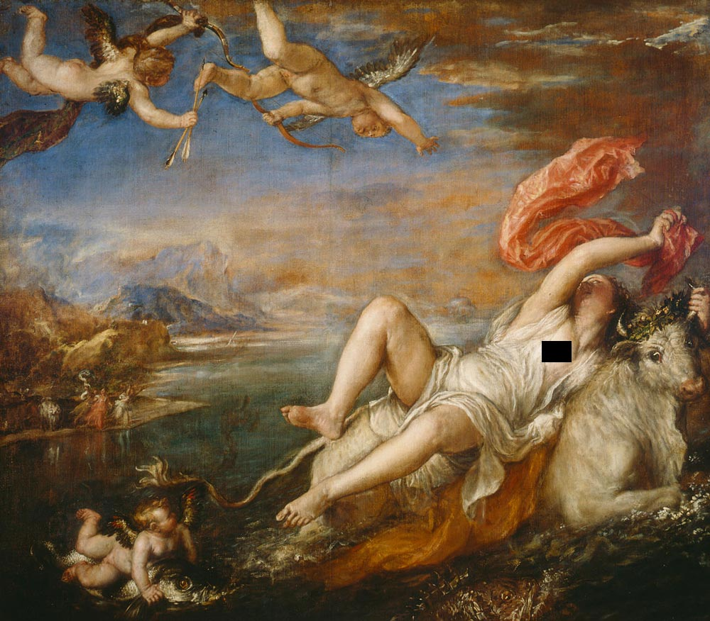 rape of europa by titian facts amp history of the painting