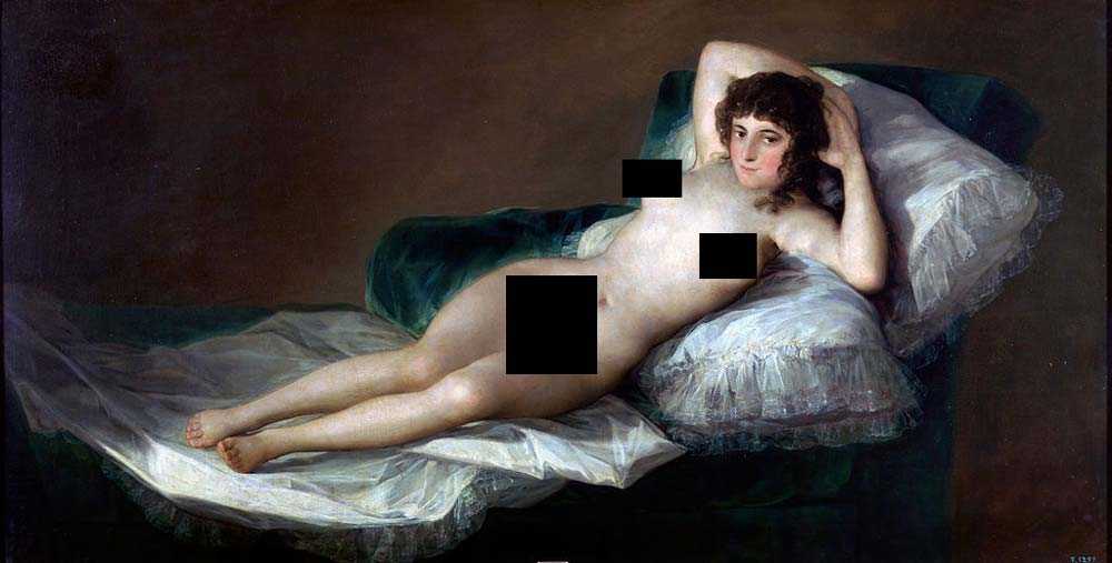 Remarkable, nude art in history
