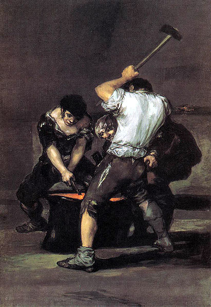 The Forge By Francisco Goya Facts History Of The Painting - Francisco goya paintings