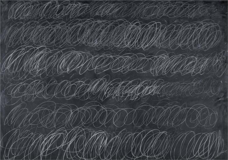 Cy Twombly Paintings & Artwork Gallery in Chronological Order