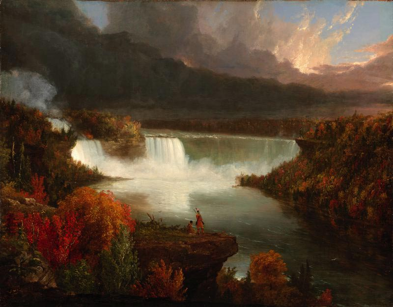 a biography of the painter thomas cole life paintings and views Frederic edwin church  the hudson river school was established by the british thomas cole when  church did differ from cole in the topics of his paintings:.