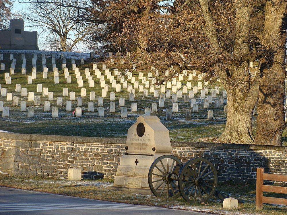 Thure de Thulstrup s Battle of Gettysburg  showing Pickett s Charge  mrgrayhistory