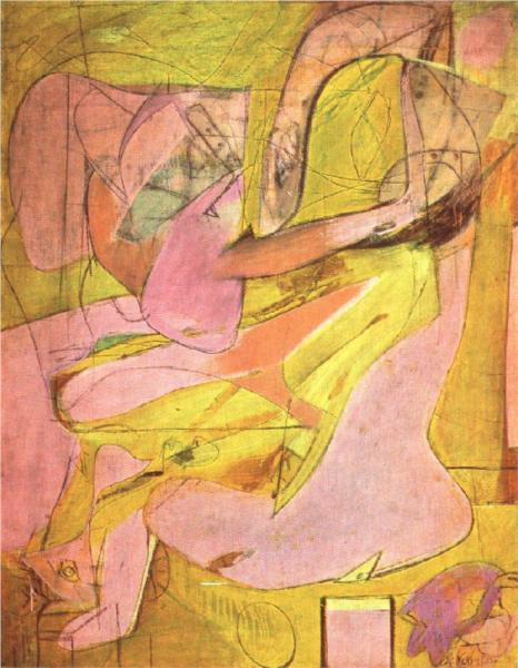 Willem de Kooning Paintings Gallery in Chronological Order