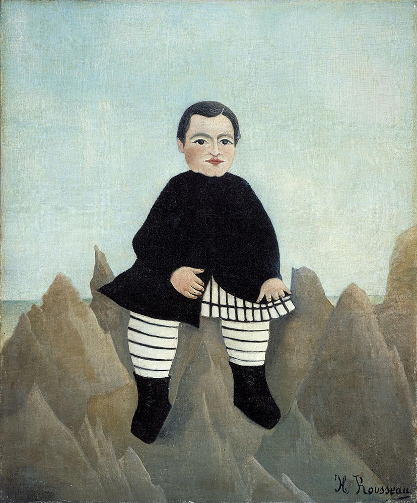 Boy_on_the_Rocks_-_1985-7_-_Henri_Rousseau