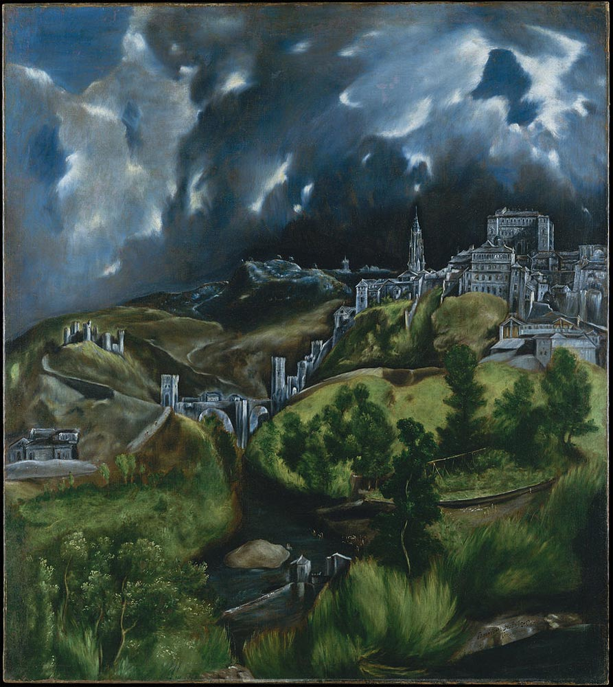 what artist is famous for the painting of toledo